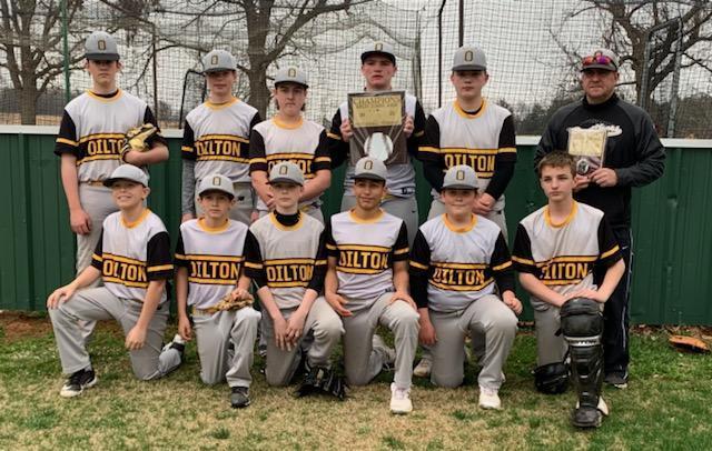 MS Baseball Team Featured Photo