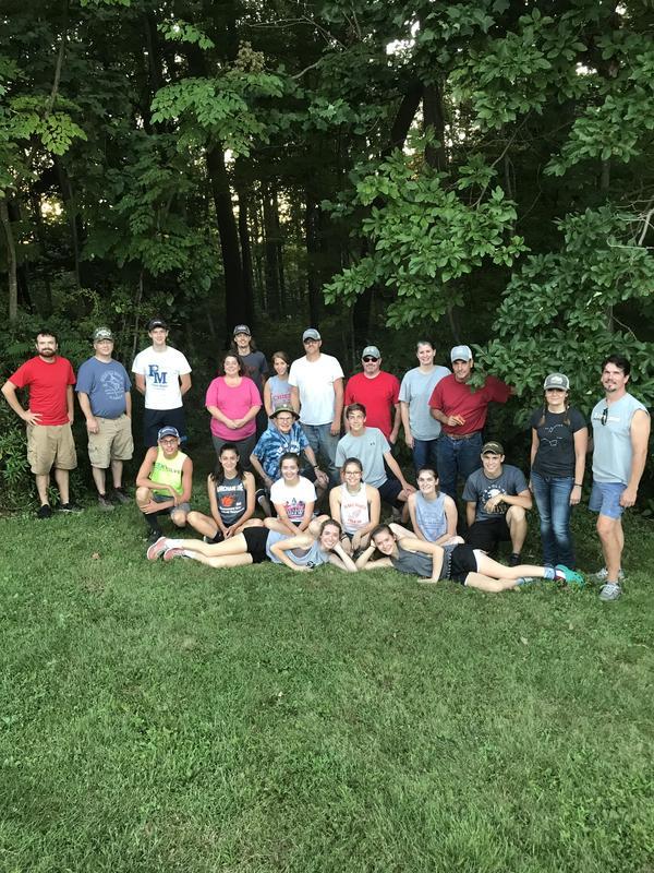 Trail Renovation Volunteers