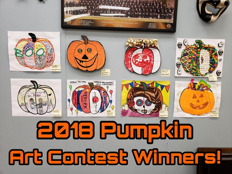 Halloween Pumpkin Art Contest