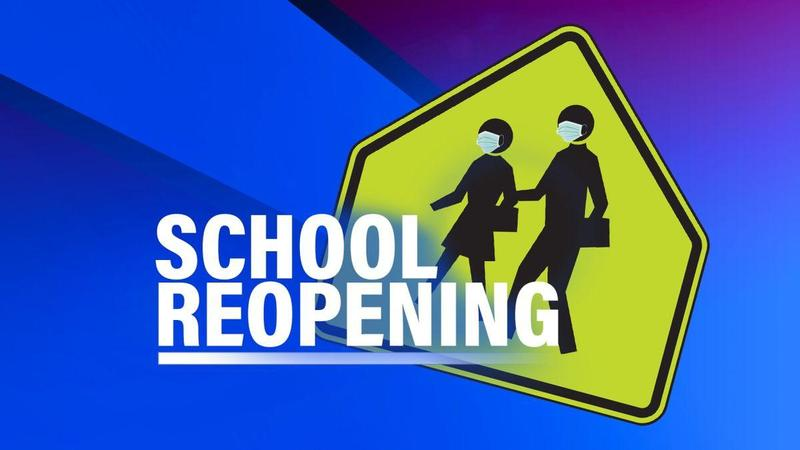 School Reopening with shadow people