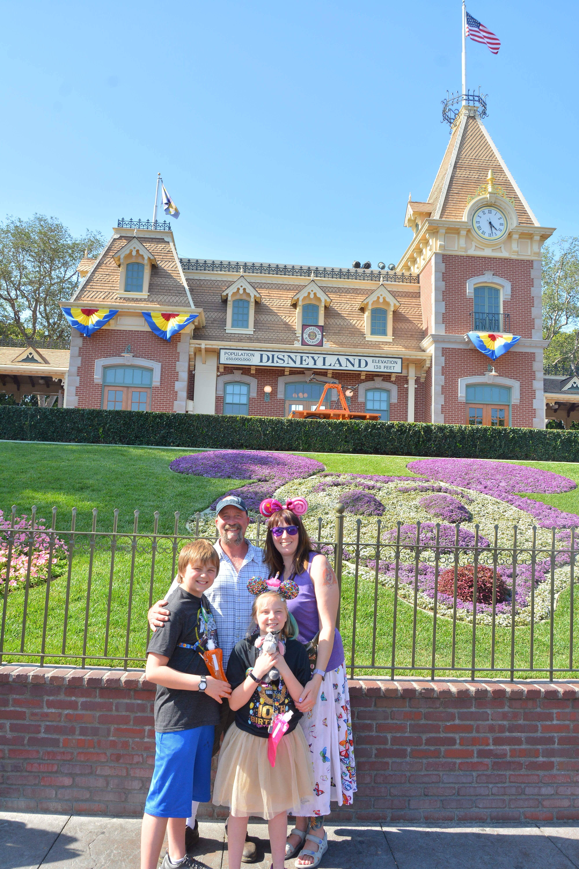 My Family at Disneyland!