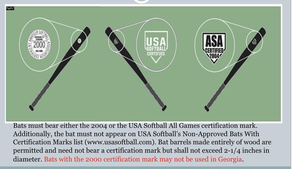 Bat certification 2