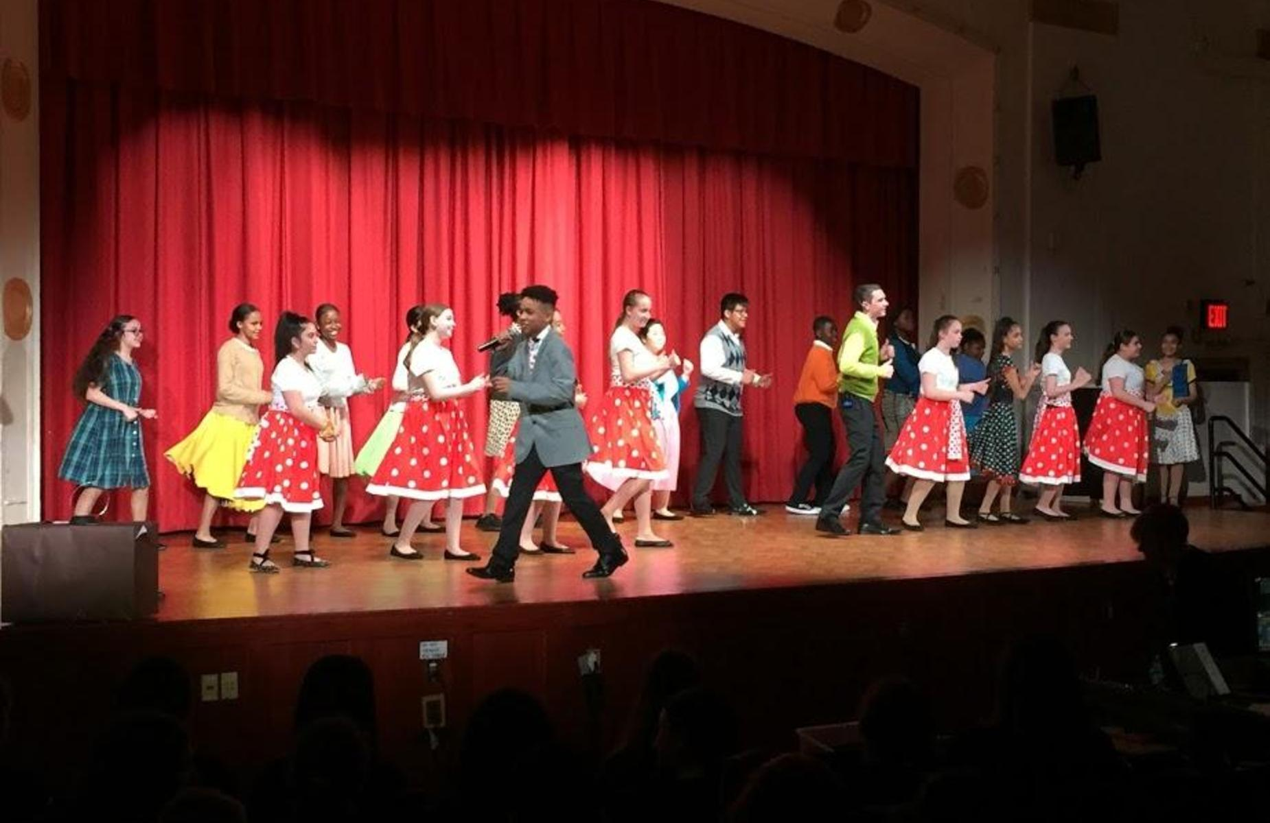Musical Theater performing Hairspray