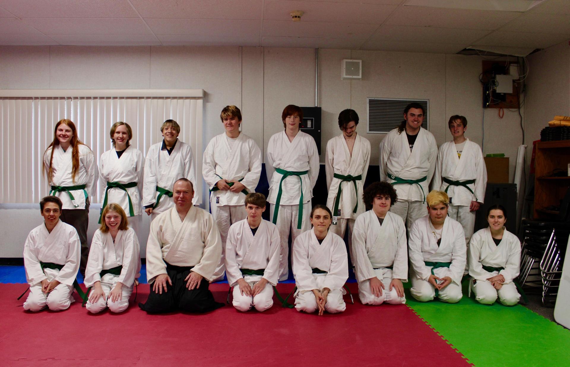 CRHS Aikido Class