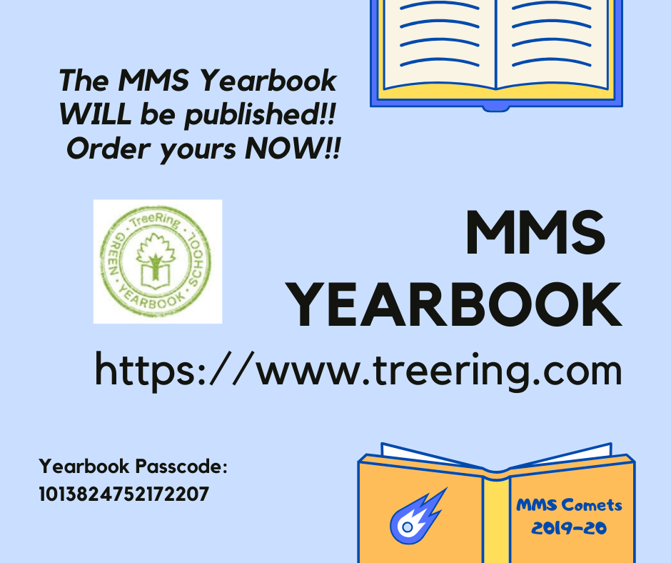 Advertisement for MMS Yearbook