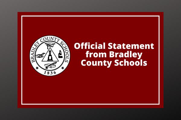 Bradley County Schools- Press Release, BCHS Featured Photo