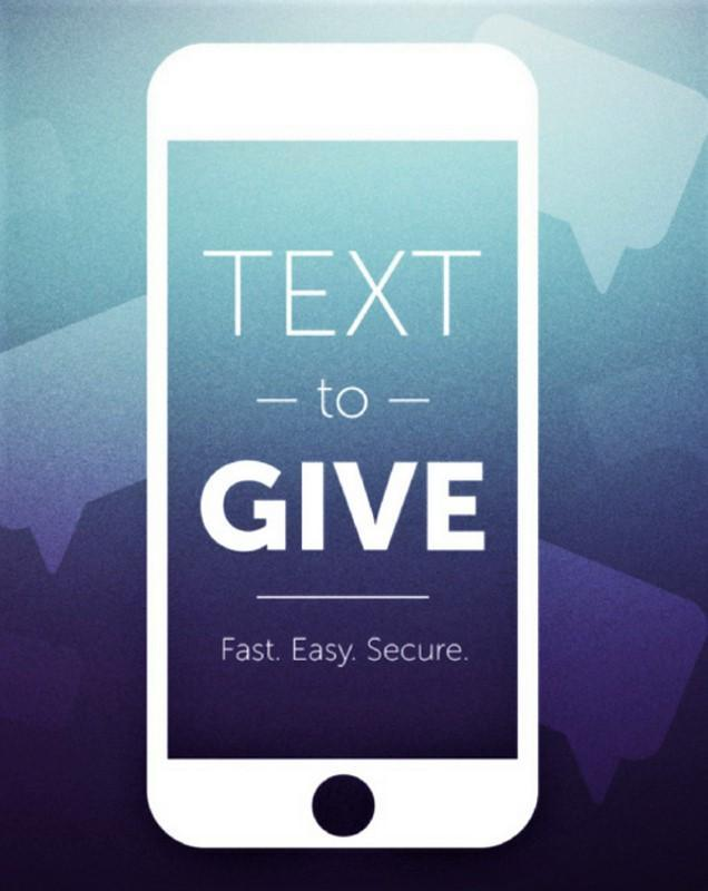 Support Our Parish Through Text to Give Featured Photo