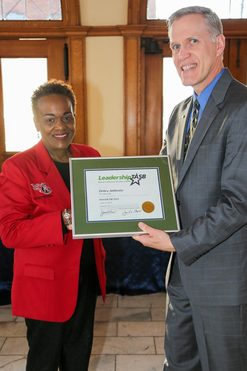 Trustee Finalizes Leadership Training Featured Photo