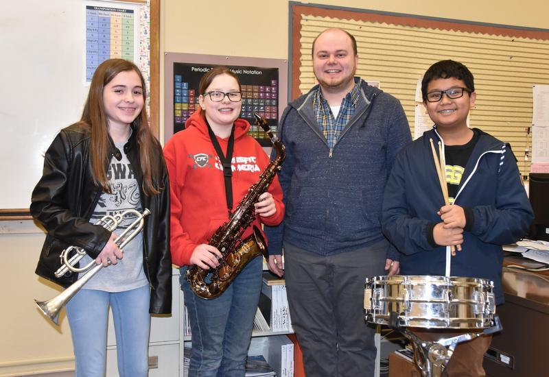 Honors for Junior High Band Members Thumbnail Image