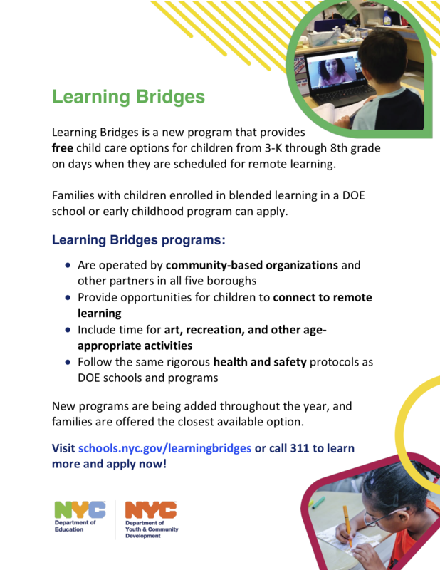 Learning Bridges Flyer En