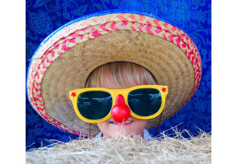 Image of a child wearing a hat