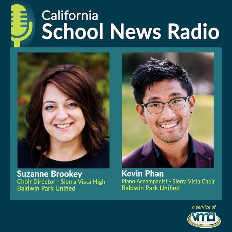 Sierra Vista High School Choral Director Suzanne Brookey and Dons alumnus and piano accompanist Kevin Phan discuss the challenges and triumphs in putting together a virtual holiday choir performance.