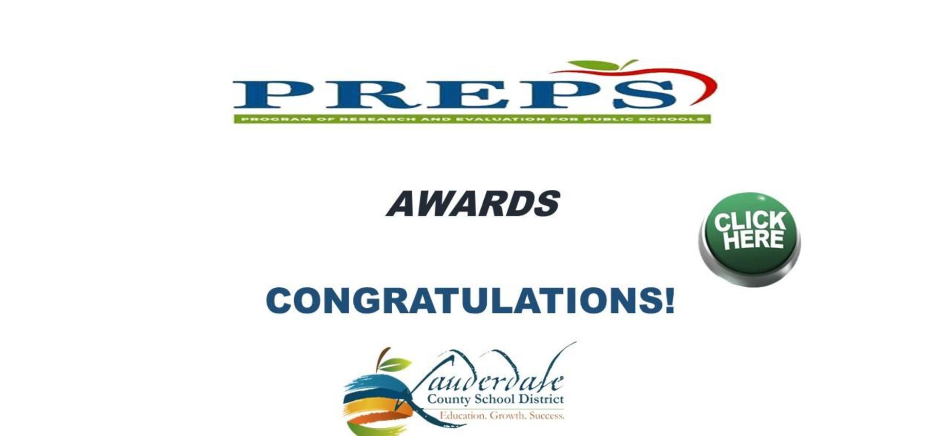LCSDL PREPS Awards Graphic