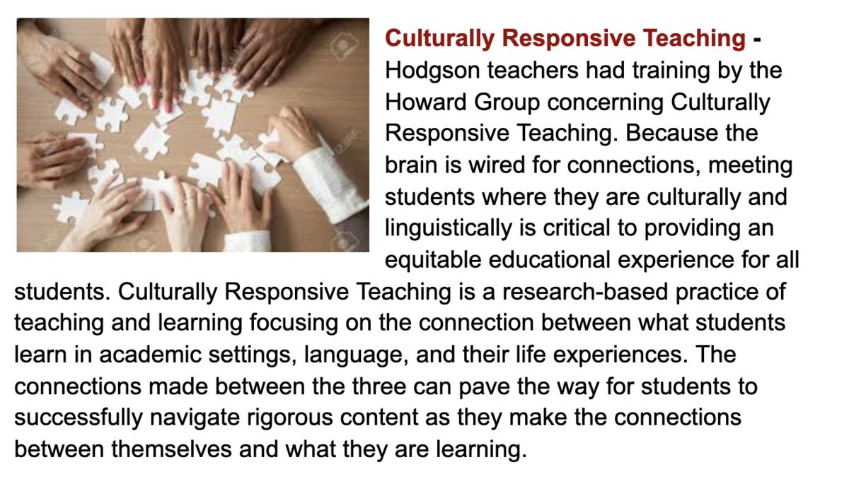 DEI Culturally Responsive Teaching