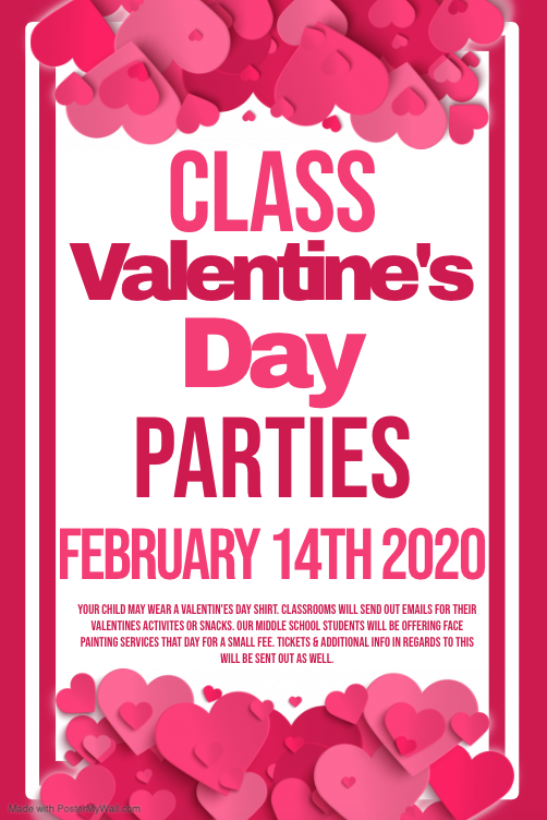 Class Valentine's Day Parties Featured Photo