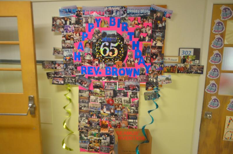 Reverend Brown to celebrate 65th anniversary Thumbnail Image
