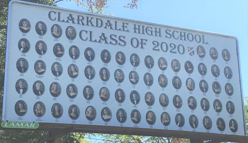 Clarkdale's Senior Class Photo