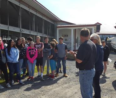 8th grade students at Hemdale Farms 2