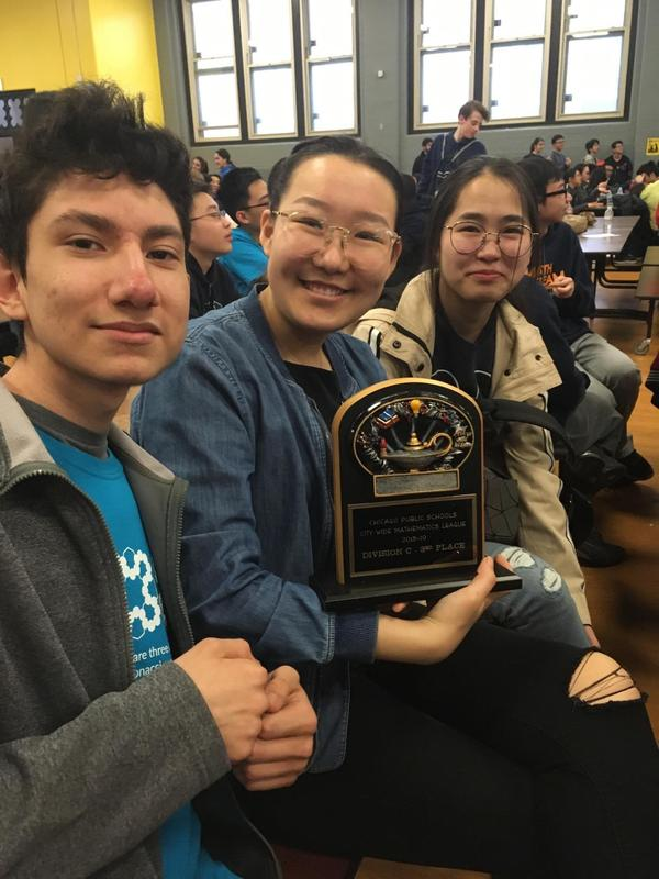 Amundsen Algebra I Team Finds X for the Win! Featured Photo