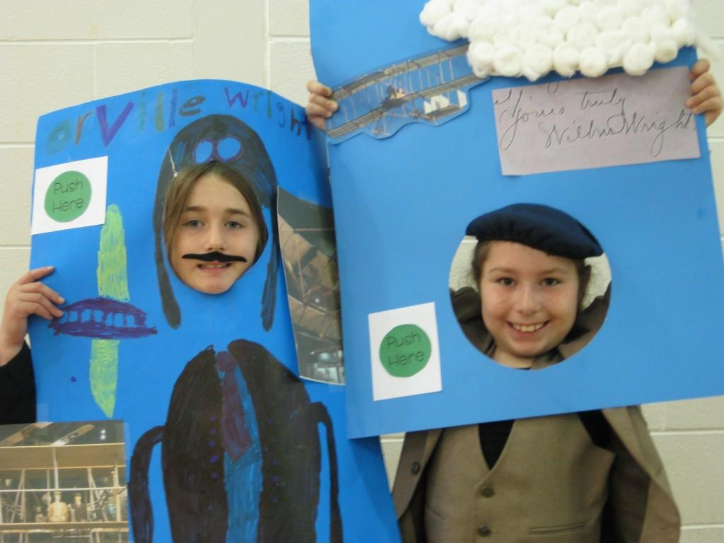 Wax Museum-The Wright Brothers!