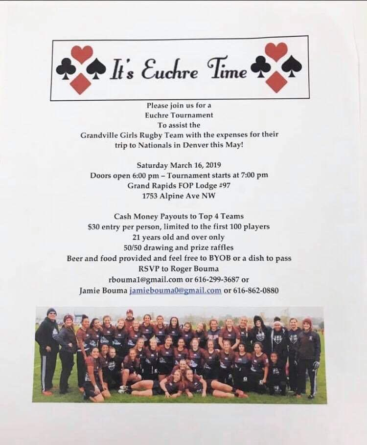 Rugby Eucher Time