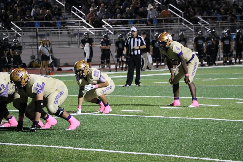 Greyhounds vs Weslaco East 10/06/17