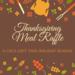 Thanksgiving Meal Raffle
