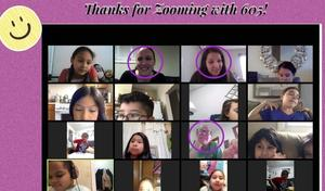 Ms. Martinez Grade 2 zoom