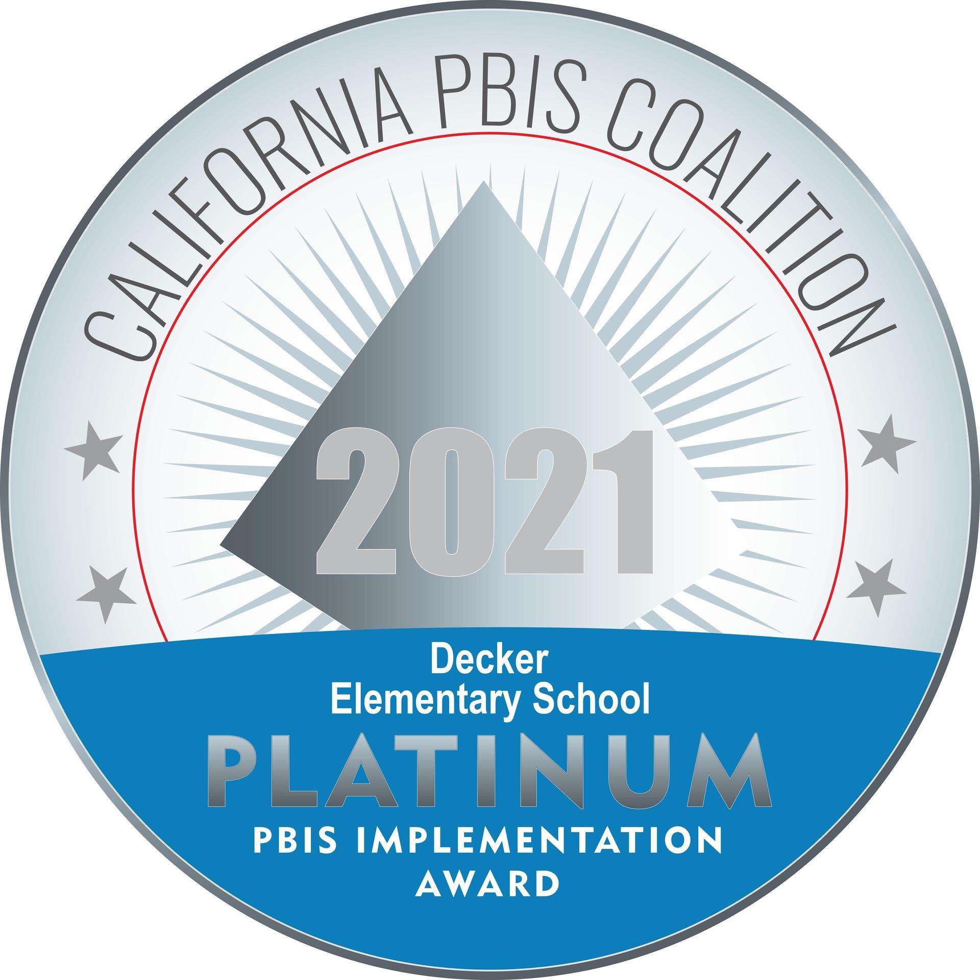 Decker PBIS logo Silver