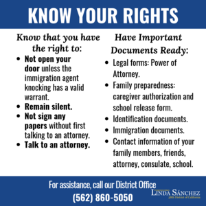 Know Your Rights - English