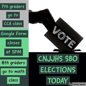 Vote Today 7th Grade CCA 8th Grade Math