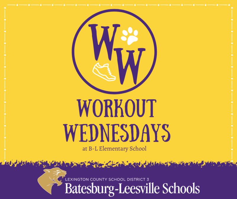 Workout Wednesdays Keep Students Moving at B-L Elementary School