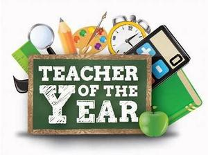 Teacher of the Year Sign