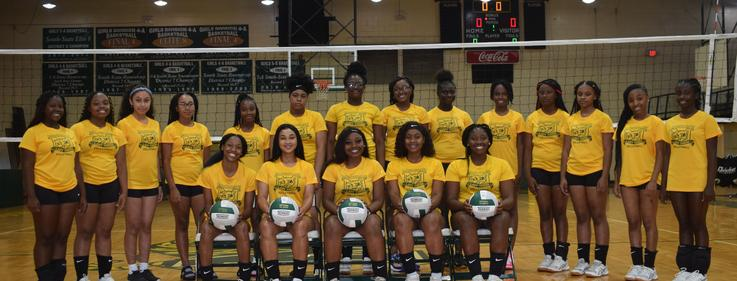 McComb High School Volleyball Team 2019-2020