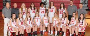 GHS varsity girls basketball
