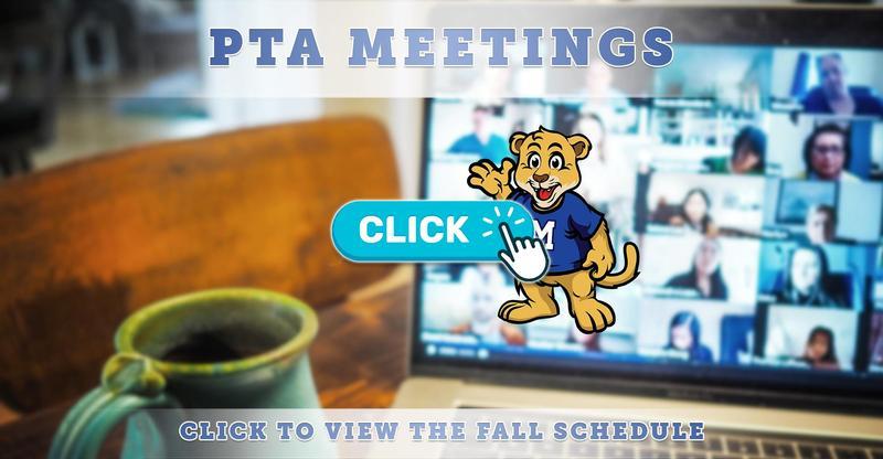 PTA Fall Meeting Schedule via Zoom