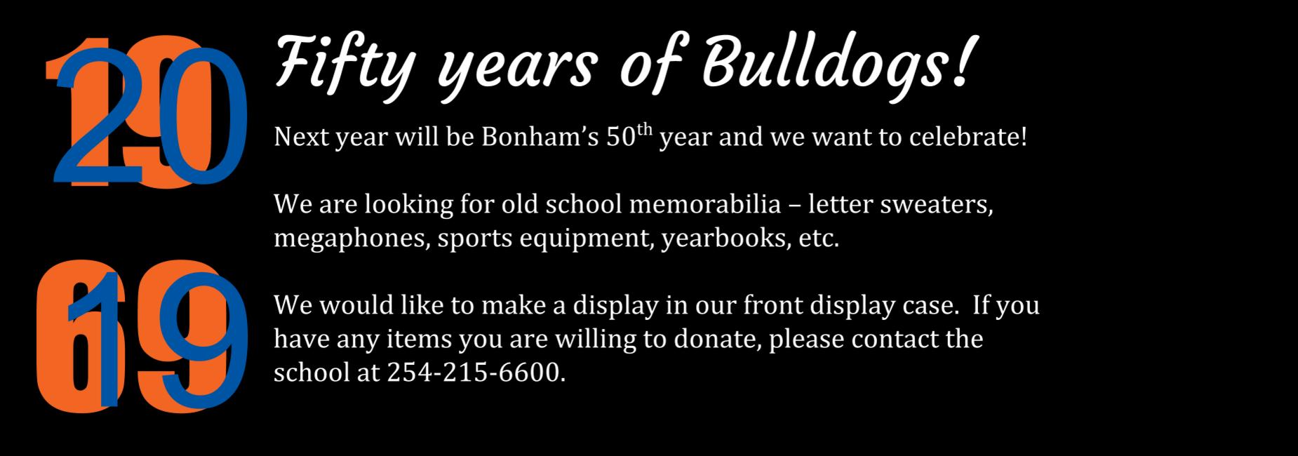 Bonham Middle School