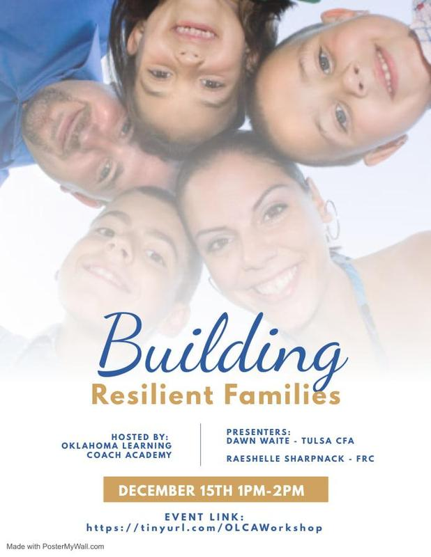 OLCA Workshop: Building Resilient Children Featured Photo