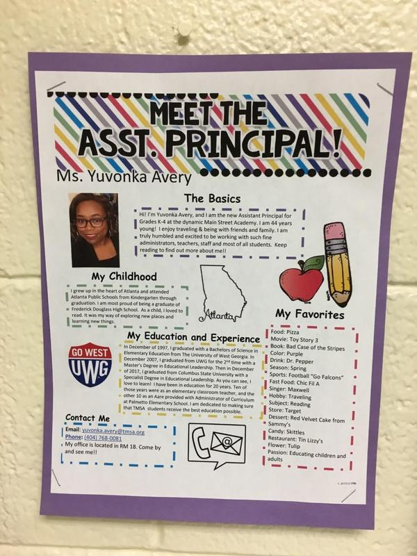 TMSA Welcomes Assistant Principal Avery Featured Photo