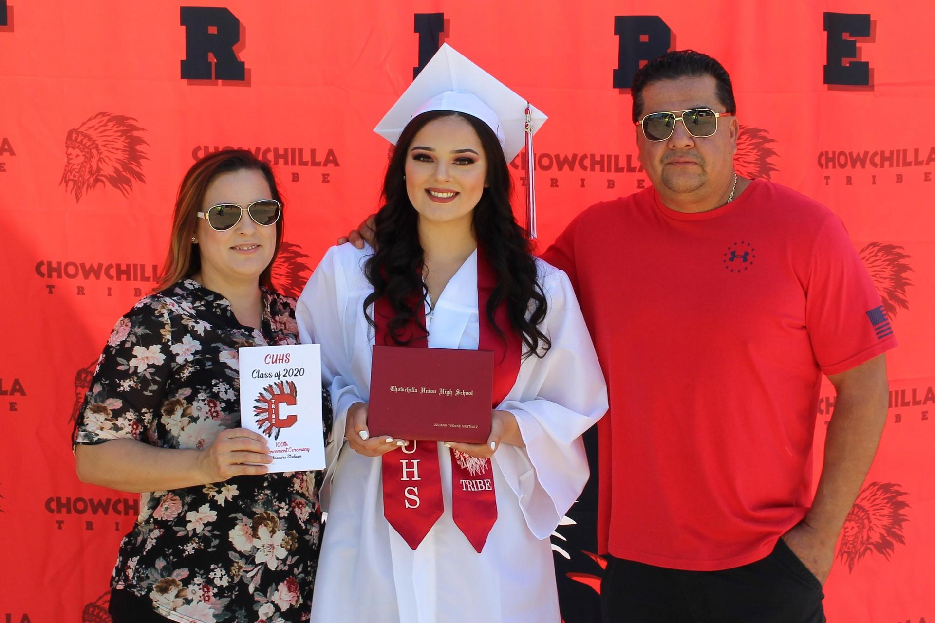 Juliana Martinez and family