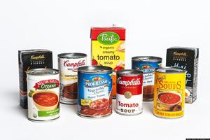 picture of canned food items