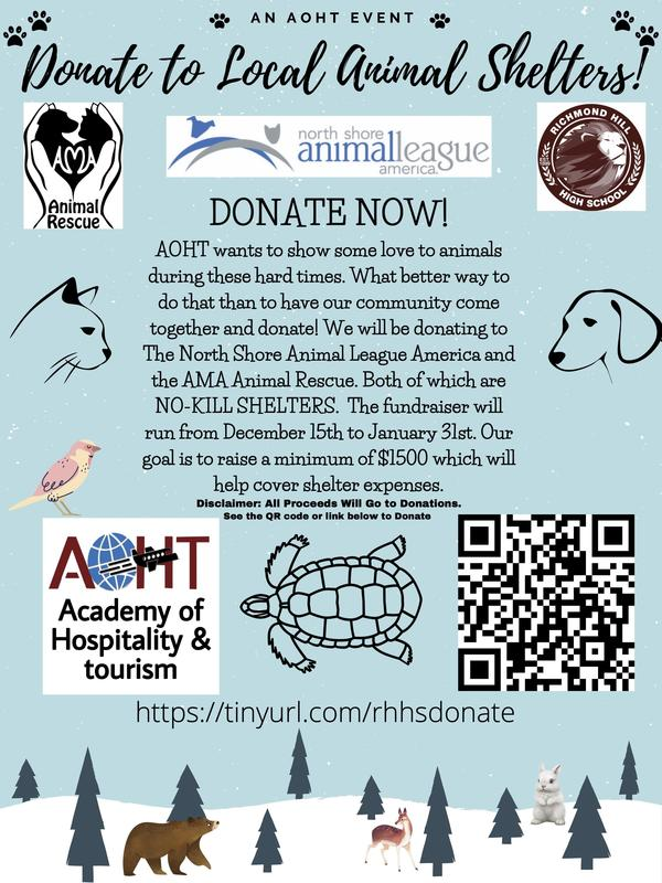 Donating to The North Shore Animal League America and the AMA Animal Rescue. Featured Photo