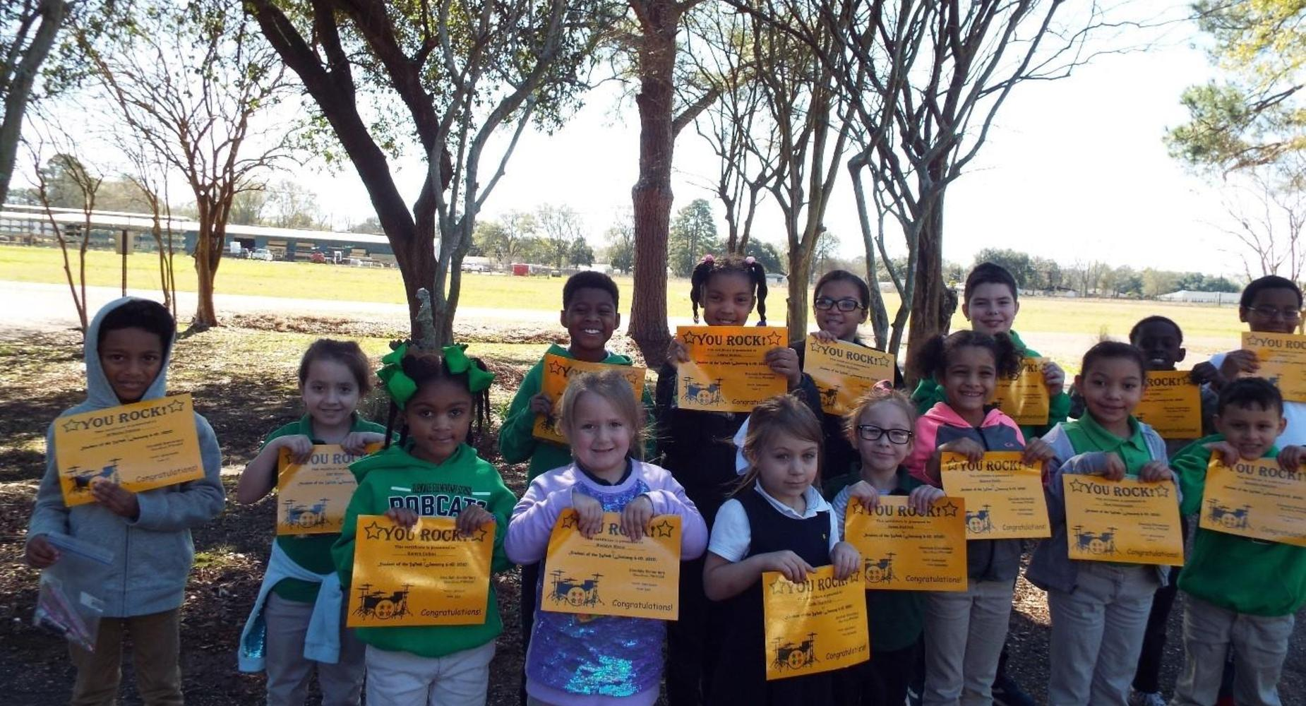Students of the Week  - January 6-10, 2020