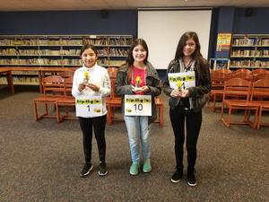 TIS Bilingual Spelling Bee Winners