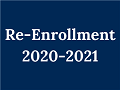 2020-2021 RE-ENROLLMENT FORM Featured Photo