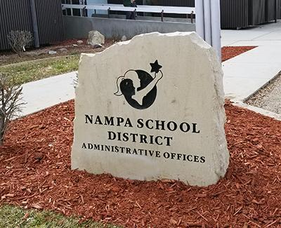 District Office Exterior Sign