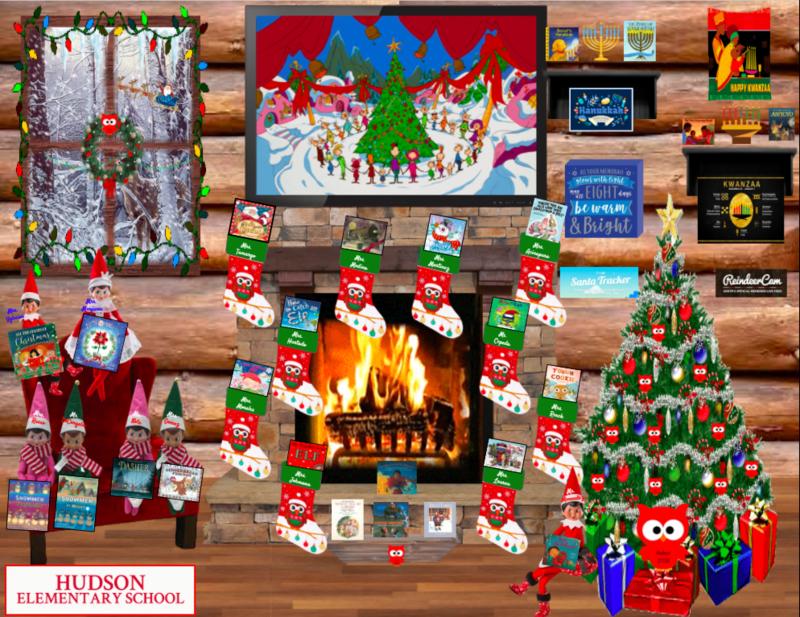 Virtual Holiday reading room