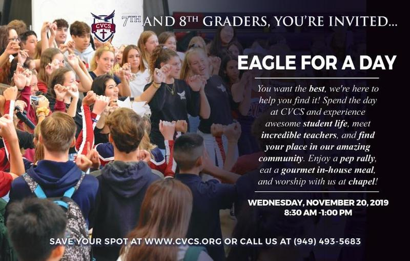 Eagle for a Day—High School Preview Day Featured Photo