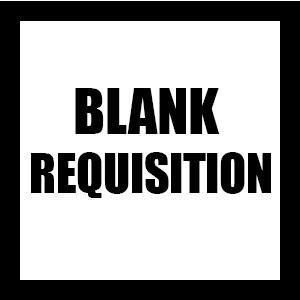 BLANK REQUISITION