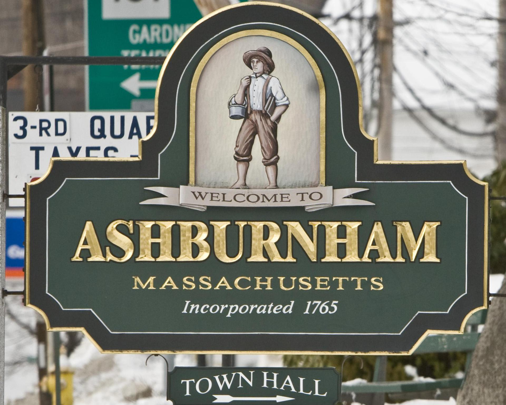 Ashburnham Sign